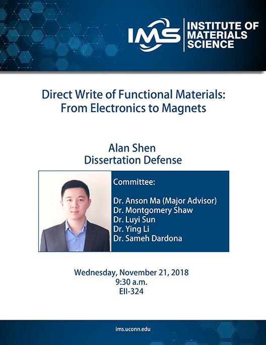 Alan Shen Dissertation Defense