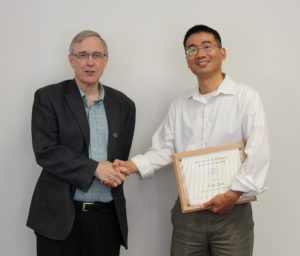 Dr. Steven Suib and Dr. Luyi Sun